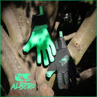 Albero Catch and Keep Torwarthandschuhe Grip Innen Aussen Albero