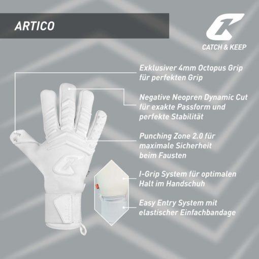 Artico_Sensation_100_Catch&Keep_Features