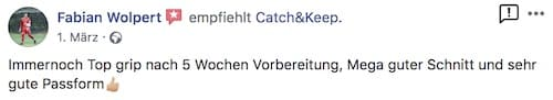 Catch and Keep Kundenstimme Empfehlung 14