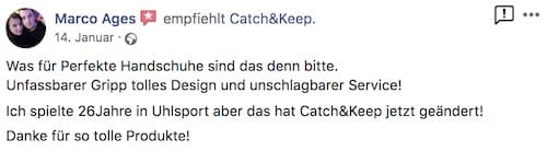 Catch and Keep Kundenstimme Empfehlung 21