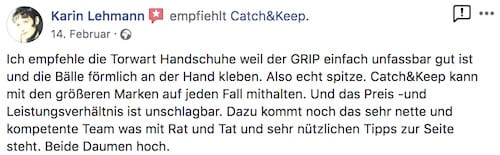 Catch and Keep Kundenstimme Empfehlung 22