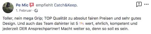 Catch and Keep Kundenstimme Empfehlung 3