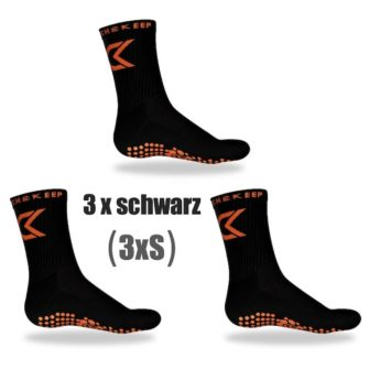 Grip Socken Bundle schwarz Catch and Keep