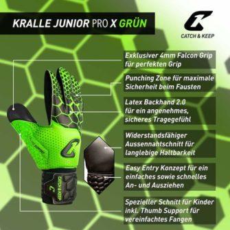 Kralle_Junior_Pro_3.0_Grün_Catch_and_Keep_Vorteile