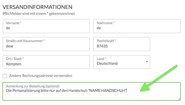 Catch and Keep Personalisierung Torwarthandschuhe personalisieren Torhüter